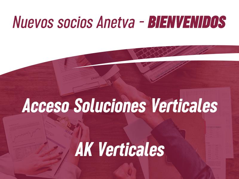 AK Verticales y Acceso Soluciones en altura se suman a la gran familia de ANETVA