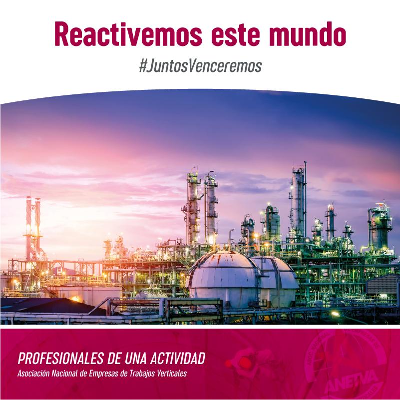 ANETVA emprende la campaña de comunicación que destaca que los trabajos verticales forman parte de seis sectores estratégicos fundamentales para la reactivación económica